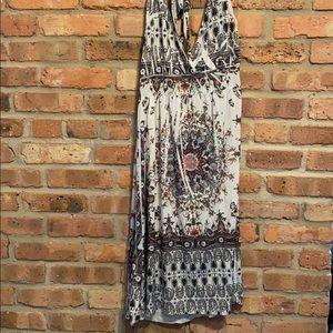 Halter maxi dress XL